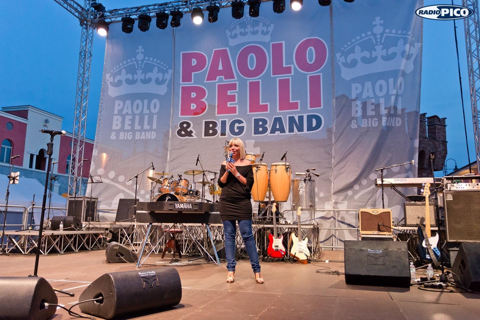 Paolo Belli e la sua Big Band al Mantova Outlet | Radio Pico