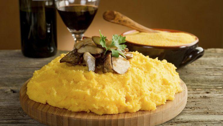 polenta-funghi-e-salsiccia