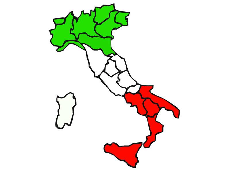 Cartina Italia Con Distanze Km.Quando I Parenti Vivono A Pochi Km Di Distanza Ma In Una Regione Diversa Radio Pico