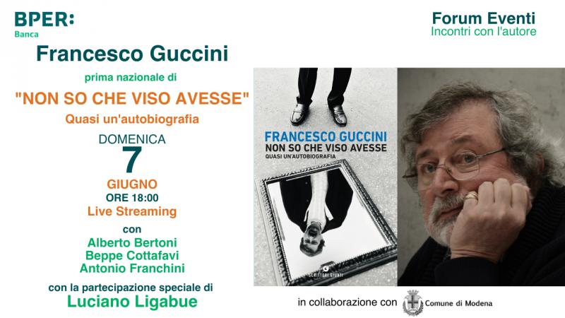 Domenica 7 giugno Modena festeggia Francesco Guccini